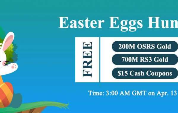 RSorder Easter Eggs Hunting: Get Free RS 3 Gold and $15 Discount on Apr.13