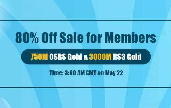 Time to Snap up RSorder Members-Only 80% Off Sale RuneScape Gold on May.22